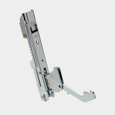Fixed fulcrum hidden cam hinges for door weights from 12 kg to 16 kg